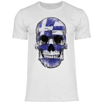 df15 Herren T-Shirt Griechenland Greece Flagge